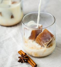 Late Summer Treat: Chilled Milk with Chai Tea Ice Cubes