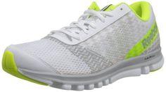 Reebok Sublite Duo Instinct Men US 13 White Trainers Running Shoe #Reebok #AthleticShoe