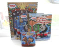 Thomas & Friends – Christmas Books Make Great Stocking Stuffers