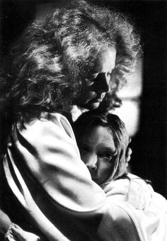 "laurapalmerwalkswithme:Piper Laurie and Sissy Spacek in ""Carrie"", 1976"