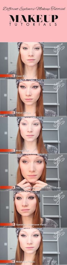 7 Basic Eyeliners | Step By Step Tutorial On How To Apply The Best Eyeliner. By Makeup Tutorials http://makeuptutorials.com/makeup-tutorials-7-basic-eyeliners/