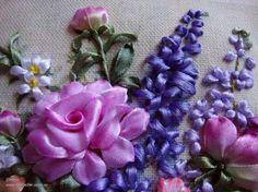 Silk Ribbon Flower Embroidery Designs By Inessa Timonina - Life Chilli