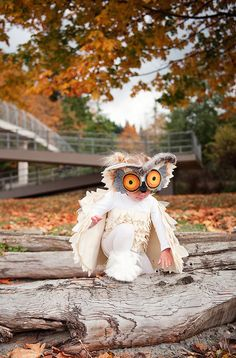 Excited that Halloween is less than a week away! Excited for the ward Halloween party this Friday. Ruby, an owl. Owl Halloween Costumes, Halloween 2016, Diy Costumes, Halloween Kids, Happy Halloween, Halloween Decorations, Halloween Face, Favorite Holiday, Holiday Fun