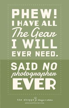 A laugh for you all :). Shoppe Satire ~ Humor for Photographers ~ Photography Jokes Photography Quotes Funny, Photography Words, Camera Photography, Photography Business, Digital Photography, Photography Tutorials, Lifestyle Photography, Portrait Photography, Photographer Quotes