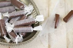 Homemade Tootsie Rolls - This is the recipe that doesn't show up on my other pin. I hate when that happens!  this uses cocoa powder, butter, powdered sugar & powdered milk.