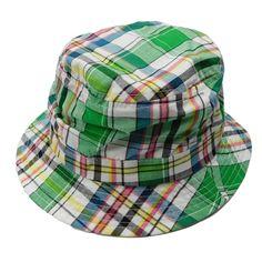 Tropical Trends Plaid Golf Bucket Hat