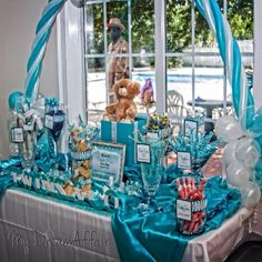 Twins & Co. Babyshower Decorations! Tiffany Co Inspired... So ...