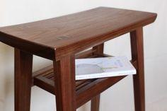 キッチンなどで便利なハイスツール (ウォールナット) - woodworks one