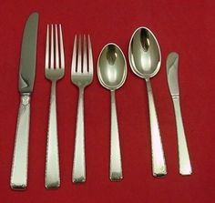 """Towle OLD LACE STERLING Dinner Fork 7 3//8/"""" NO MONOGRAM"""