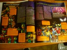 page layout 1 (game informer magazine) Game Informer, Page Layout, Design Projects, Gift Wrapping, Magazine, School, Gifts, Ideas, Art
