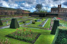 ENGLAND, Hampton Court Garden