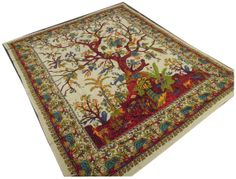 Indian Tree Of Life Hippie Hippy Wall Hanging Tapestry Throw Bedspread Bed Decor Sheet Ethnic Decorative Art on Etsy, $23.99