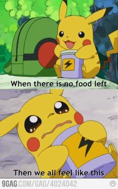 Pikachu Life Stories <--- me when I'm all out of candy...