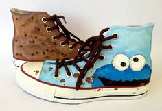 Cookie Monster Shoes