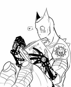 Art by Herzspalyer Jojo's Bizarre Adventure, Anime Manga, Anime Guys, Jojo Bizarro, Killer Queen, Yoshikage Kira, Shonen Ai, Jojo Anime, Jojo Parts
