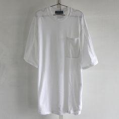 ZIPスリットワイドロングカットソーW | モード系ファッションの通販 albino
