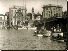 A photo of Karaköy taken in to see that adorable little wooden mosque is gone. Istanbul Pictures, Historical Pictures, Istanbul Turkey, Mosque, Old Pictures, Once Upon A Time, Street Photography, Art Nouveau, Beautiful Places