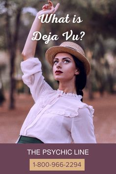 Have you ever found a sense of Deja Vu? Deja Vu is the phenomenon where a person has felt like they have experienced an event in the past before Retro-cognition is the ability to see into the past. Individuals with retro-cognition can recognize and identify events, places, and people who lived in the past but had no prior interaction with them. Questions about extrasensory perception? Call a psychic for answers at 1-800-966-2294 www.thepsychicline.com Psychic Hotline, Medium Readings, Psychic Mediums, Psychic Readings, Love And Light, Perception, The Past, Felt, Psychics