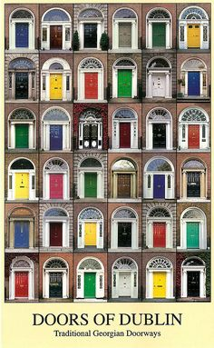 I love doors and the ones in Ireland are so fun!