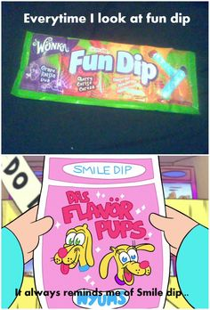 Fun dip and Smile dip.... by ChristinaDragon.deviantart.com on @DeviantArt