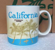 prettiest starbucks city mug california - Google Search