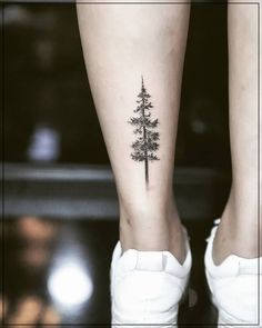 Dotwork pine tree The post Dotwork pine tree appeared first on Best Tattoos. Pine Tattoo, Tree Tattoo Men, Tree Tattoo Designs, Tattoo Designs For Women, Tattoos For Women, Simple Tree Tattoo, Tree Bird Tattoo, Cute Tattoos, Beautiful Tattoos