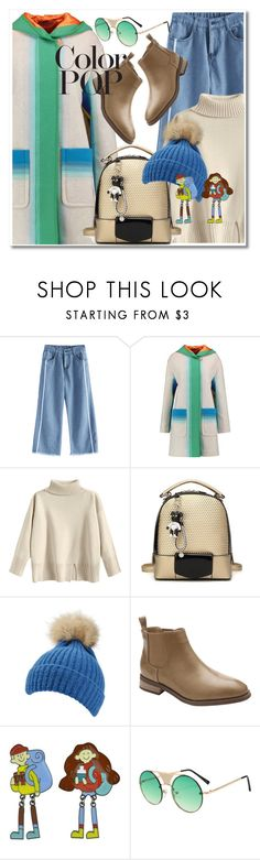 """Color pop"" by paculi ❤ liked on Polyvore featuring Missoni and statementcoats"