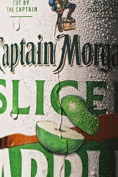 🍏It's apple pouring season 🍏.  All New Captain Morgan Sliced Apple is available now.
