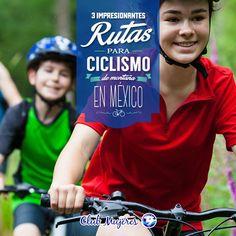 ¿Qué tan intrépida te sientes hoy? Aventúrate este fin de semana y desafía alguna de estas rutas http://clubmujeresalpura.com/2015/06/17/3-impresionantes-rutas-para-ciclismo-de-montana-en-mexico/