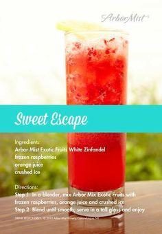 Arbor Mist Drink Recipes