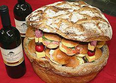 Les buffets froids et les pains surprise