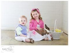 Spring Easter Pictures by Kate Pease Photography Click for Mini Session Details!