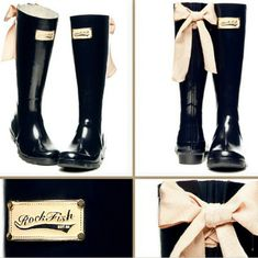 Oh my, these are super cute rain boots!