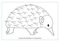 Tracing is great for practising writing instrument control. Complete the picture of this echidna by tracing around the outline with your pen, pencil, or finger! Aboriginal Education, Animal Outline, Tracing Sheets, Kindergarten Art, Preschool, Australia Animals, Echidna, World Geography, Tracing Worksheets