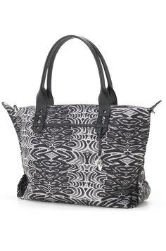 Painted Zebra Print Weekender Overnight Bag Painted Zebra