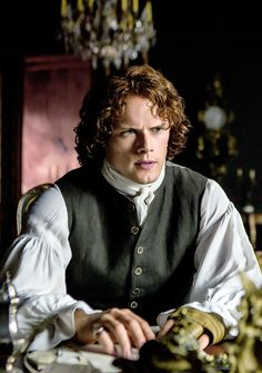 Outlander News - love the intensity of the look