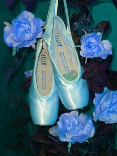 turquoise ballet pointe shoes - Google Search