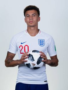 Dele Alli of England poses for a portrait during the official FIFA World Cup 2018 portrait session at on June 13 2018 in Saint Petersburg Russia Petersburg Russia, Saint Petersburg, Dele Ali, England National Team, England Players, Tottenham Hotspur Football, Jesse Lingard, Sporting, Football Is Life