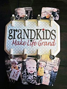 DIY for grandparents.  Pretty soon I can actually use this!!!!  :)