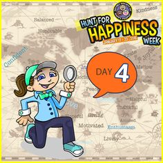 It's Day 4 of ‪#‎HuntforHappiness‬ Week. Pick one of the three hunts to add an extra smile today: http://sohp.com/hunt-happiness-week-day-4/
