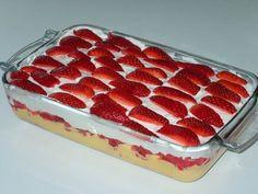 torta simples de morango   Tortas e bolos > Receitas de Torta de Morango   Receitas Gshow