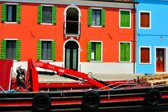 Burano Houses by usabin, via Flickr