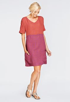With it's gauzy texture, the Beachcomber is definitely one that I will wear as a swim suit cover up.