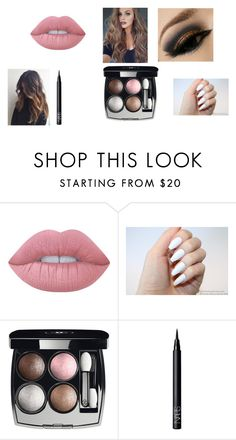 """""""beauty tip"""" by tanae-523 ❤ liked on Polyvore featuring Lime Crime, Chanel and NARS Cosmetics"""