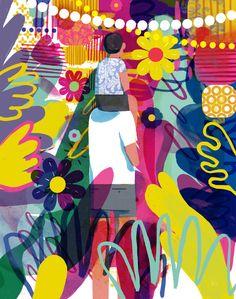 Keith Negley, illustratore di stati d'animo