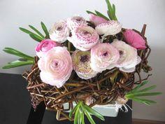 netjes geknoopt - bloemschikken met wilgentenen