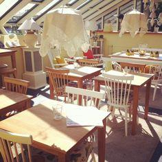 The sunny side of Cafe Lapinniemen Ansari, Tampere, Finland. #tampereblog #tampereallbright