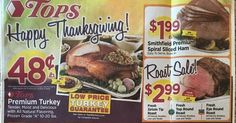 Tops Weekly Ad Scanned and Matched Up to Coupons 11/20 thru 11/26~~~>https://goo.gl/8ptlik