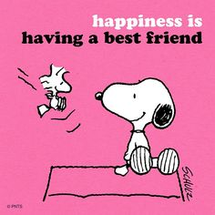 I find this true. Regrann from - Happiness is a best friend. Snoopy The Dog, Snoopy And Woodstock, Peanuts Cartoon, Peanuts Snoopy, Peanuts Comics, Snoopy Quotes, Peanuts Quotes, Snoopy Christmas, Charlie Brown And Snoopy