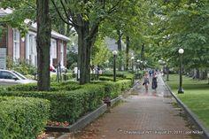 Chautauqua Institution - Brick Walk along Bestor Plaza - photo by joenickol, via Flickr